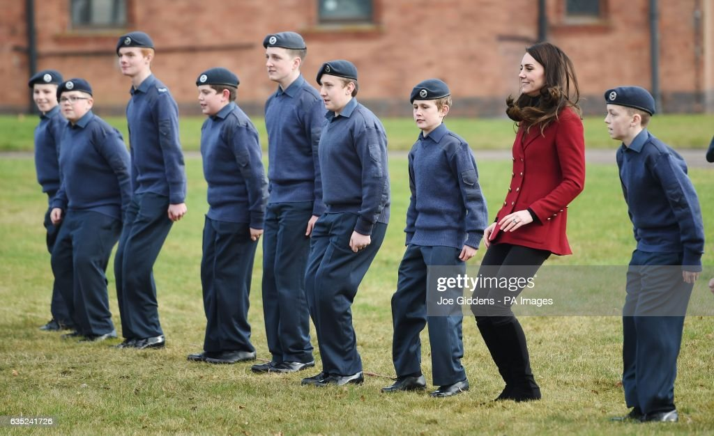 the-duchess-of-cambridge-royal-patron-and-honorary-air-commandant-of-picture-id635241726