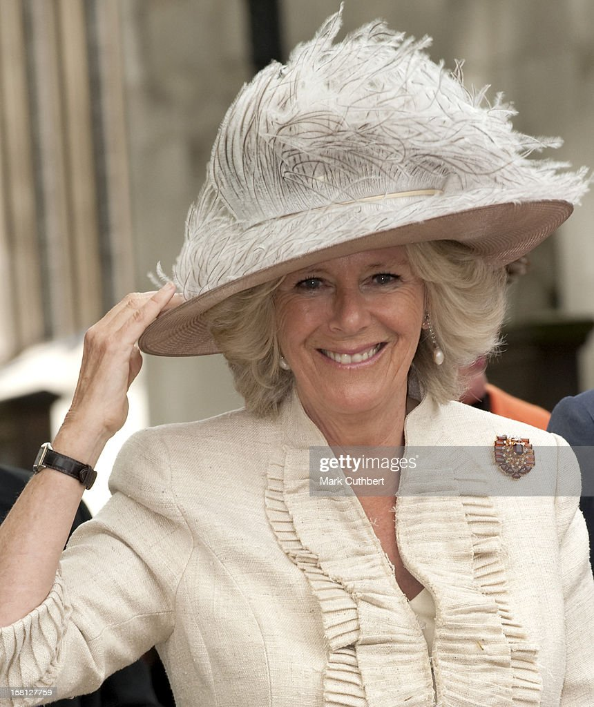 The Duchess Of Cornwall Attends A Commemoration, Celebration And Rededication For The 90Th Anniversary Of Combat Stress, Westminster Abbey, London.