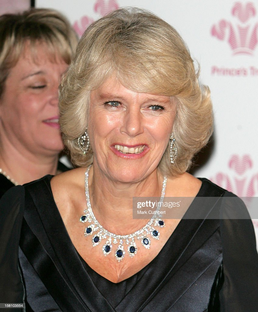 The Duchess Of Cornwall Attends A Prince'S Trust Gala Evening At The Roundhouse In London. .