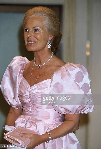 The Duchess of Kent at the Bartres Ball held at Grosvenor House in aid of the Hosanna House Trust