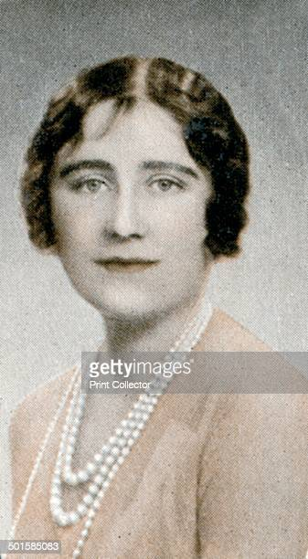 HRH The Duchess of York Elizabeth Angela Marguerite BowesLyon was the wife of King George VI and the mother of Queen Elizabeth II A print from the...