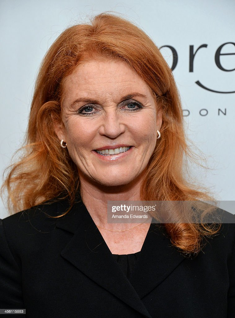 The Duchess of York, Sarah Ferguson arrives at The British American Business Council Los Angeles 54th Annual Christmas Luncheon at the Fairmont Miramar Hotel on December 13, 2013 in Santa Monica, California.