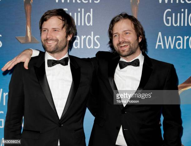 The Duffer Brothers Matt Duffer and Ross Duffer attend the 2017 Writers Guild Awards LA Ceremony at The Beverly Hilton Hotel on February 19 2017 in...