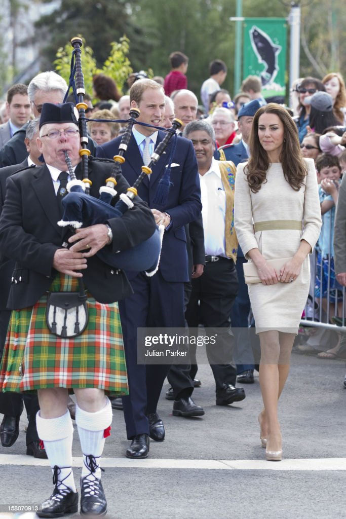 The Duke And Duchess Of Cambridge On Their Official Tour Of Canada The Duke And Duchess Begin Their Day In Yellowknife At The City Hall For The...