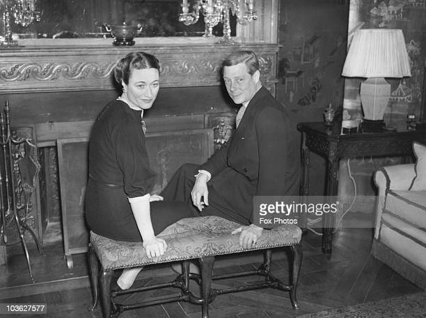 The Duke and Duchess of Windsor spend the New Year at the Villa La Croe near Cap d'Antibes on the French Riviera 1st January 1939