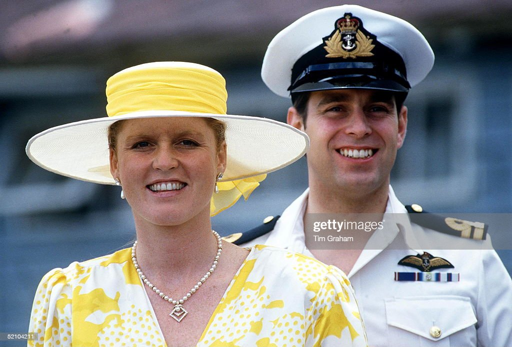 The Duke And Duchess Of York Visiting The Special Mobile Force At Vacoas During Their Official Visit To The Island Of Mauritius.