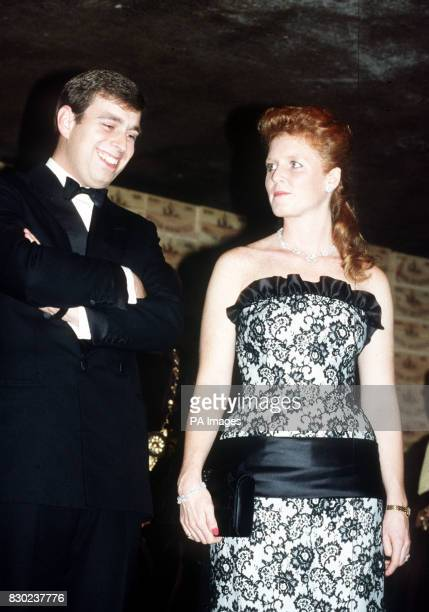 The Duke and Duchess of York vist the Wine district of Bordeaux in France for the annual festival of the flowering of the wine the Fete de la Fleur...