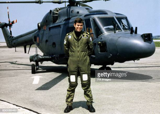 HELICOPTERS * The Duke leaves the Royal Navy on Monday July 30 2001 after 22 years service 29/5/04 Prince William looks set for a stint in the armed...