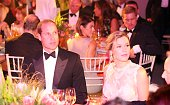 The Duke of Cambridge with Joss Stone and CEO of Tusk Trust Charlie Mayhew during the Tusk Trust conservation charity 25th Anniversary Ball which...