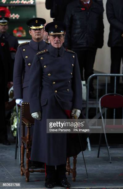 The Duke of Edinburgh at the Menin Gate memorial in Belgium where he led tributes to fallen troops at the scene of some of the First World War's most...