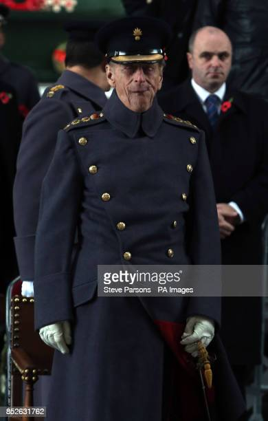 The Duke of Edinburgh at the Menin Gate memorial where he led tributes to fallen troops at the scene of some of the First World War's most deadly...