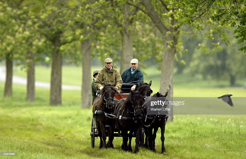 The Duke Of Edinburgh Attends Royal Windsor Horse Show On May 17 2003 At