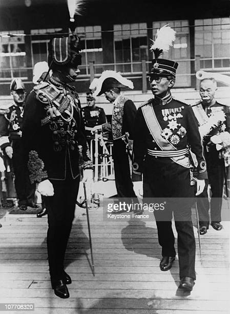 The Duke Of Gloucester Hirohito Was Decorated The Order Of The Garter On June 01Srt 1929