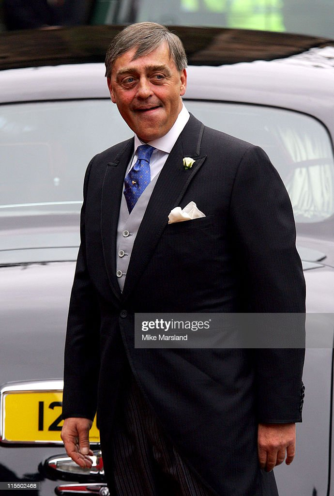 The Duke of Westminster at the wedding of Lady Tamara, the eldest daughter of The Duke and Duchess of Westminster, and Edward van Cutsem at Chester Cathedral on Saturday November 6, 2004 NO UK SALES