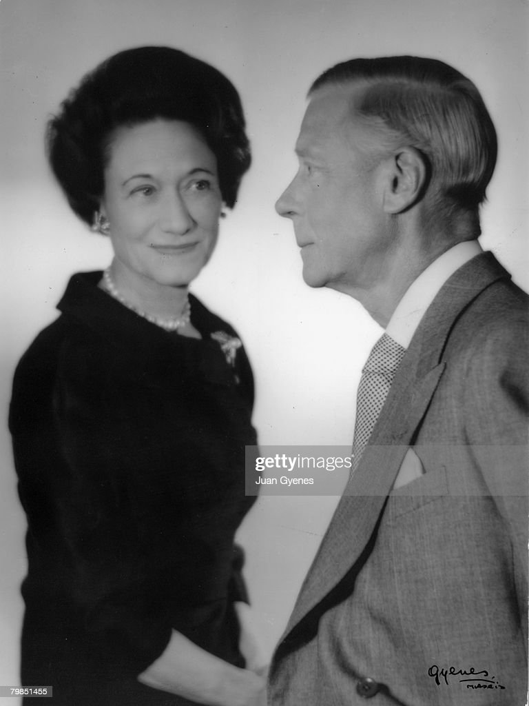 The Duke of Windsor, formerly King Edward VIII (1894 - 1972) and the Duchess of Windsor pose for a portrait at a photographer's studio in Madrid, 1963.