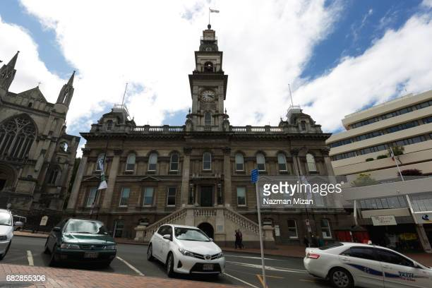 The Dunedin Town Hall is a municipal building in the city of Dunedin in New Zealand.