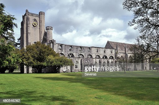 The Dunkeld cathedral : Stock Photo