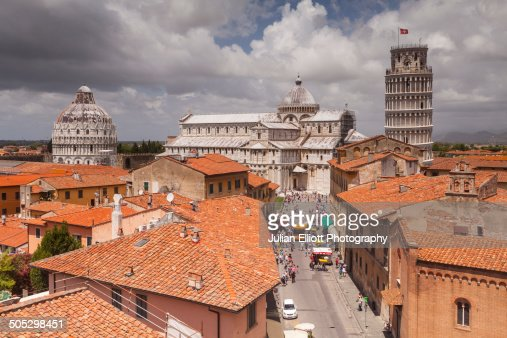 The Duomo di Pisa and the Leaning Tower