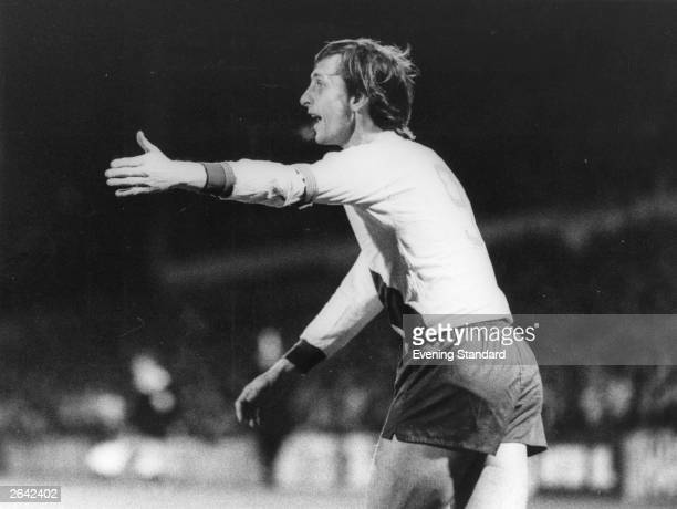 The Dutch footballer Johan Cruyff Original Publication People Disc HC0543