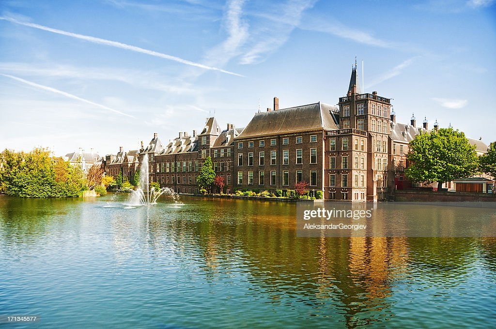 The Dutch Parliament in The Hague, Netherlands