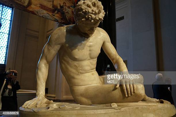 'The Dying Gaul' an ancient Roman statue from Rome's Capitoline Museum will be on display at the National Gallery of Art through March 16 2014