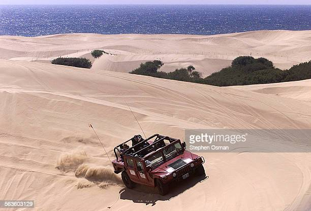 The Eads family from Bakersfield paid Pacific Adventure Tours to experience an hour on the Oceano Dunes aboard a Hummer 4wd vehicle The Eads are...