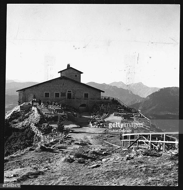 The Eagle's Nest a lavish 'teahouse' built above the Berghof Hitler's private retreat during the Third Reich | Location Near Berchtesgaden Germany