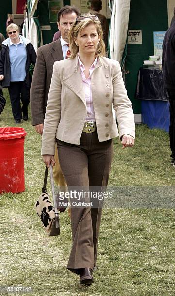 The Earl Countess Of Wessex Attend The 2005 Windsor Horse Show