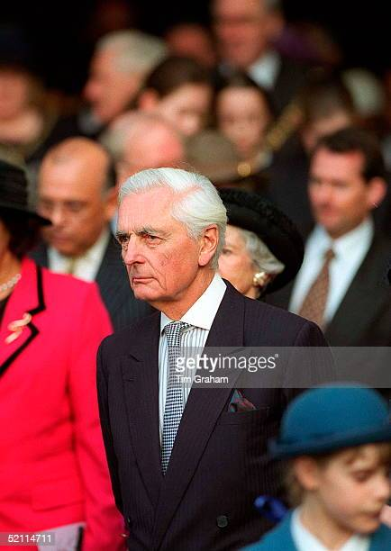 The Earl Of Airlie At The Commonwealth Day Observance At Westminster Abbey London