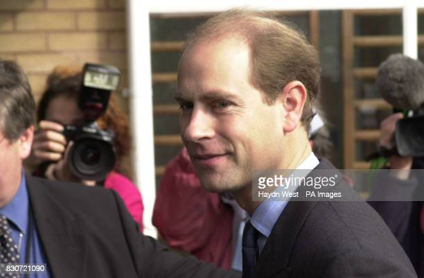 The Earl of Wessex arrives at Fairfax School Sutton Coldfield at the start of a day of visits in and around the Birmingham area to reward those...