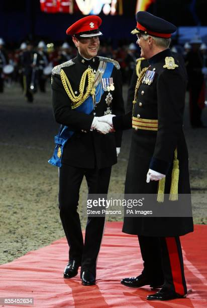 The Earl of Wessex arrives at the Windsor Castle Royal Tattoo in Berkshire