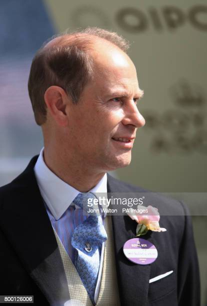 The Earl of Wessex during day two of Royal Ascot