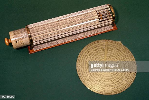 The earlier slide rule of Henry Sutton consists of fixed scales and moveable index arms A spiral slide rule affords a long and therefore accurate...