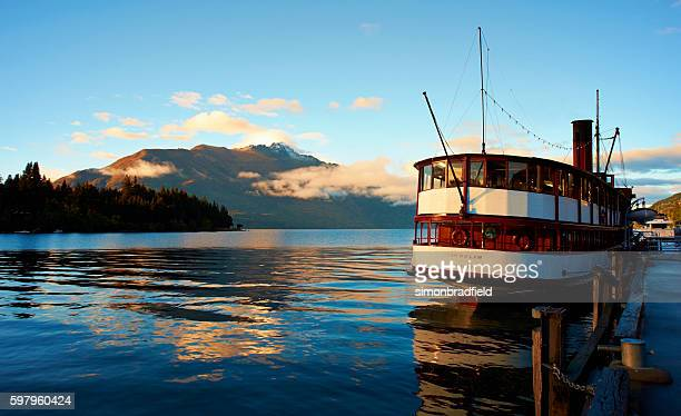 The Earnslaw And Lake Wakatipu At Dawn