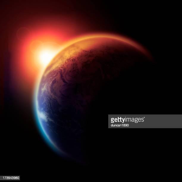 The Earth Slowly Burns