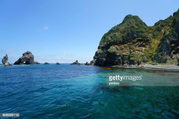The eastern island of Dokdo