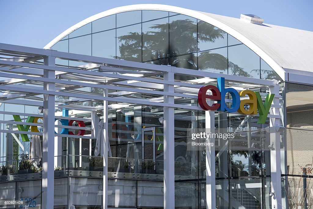The eBay Inc. headquarters stands in San Jose, California, U.S., on Tuesday, Jan. 24, 2017. Ebay is expected to release earnings figures on January 25. Photographer: David Paul Morris/Bloomberg via Getty Images
