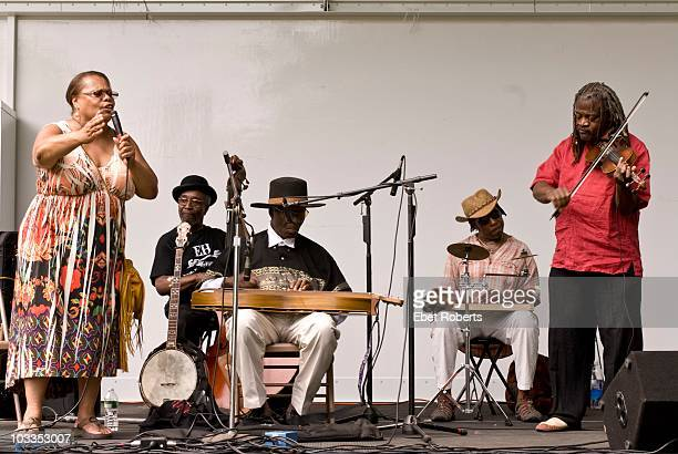 The Ebony Hillbillies with Gloria Gassaway on vocals Gloria Gassaway William 'Salty Bill' Salter Norris Bennett Dave Gibson and Henrique Prince...