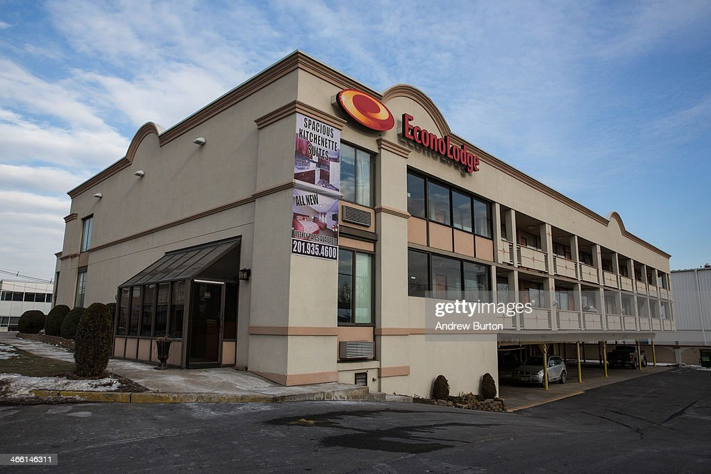 The Econolodge is seen on January 31 2014 in Carlstadt New Jersey The hotel along with others in the area had a suspicious white powder mailed to it...