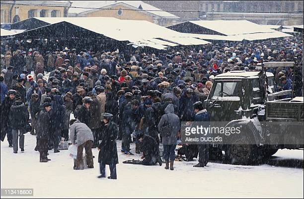 The Economic Crisis To Leningrad On December 1St1990 Kousnetchny Market
