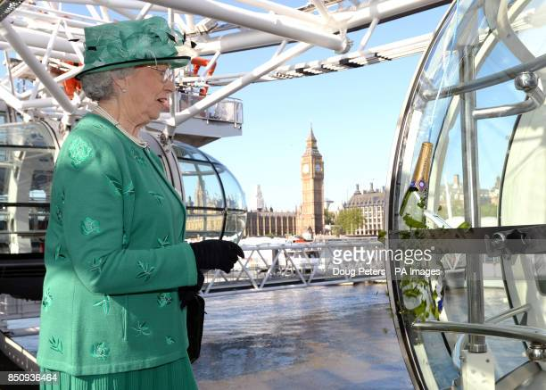 The EDF Energy London Eye officially renamed a capsule as the Coronation Capsule on the London landmark in honour of the 60th anniversary of the...