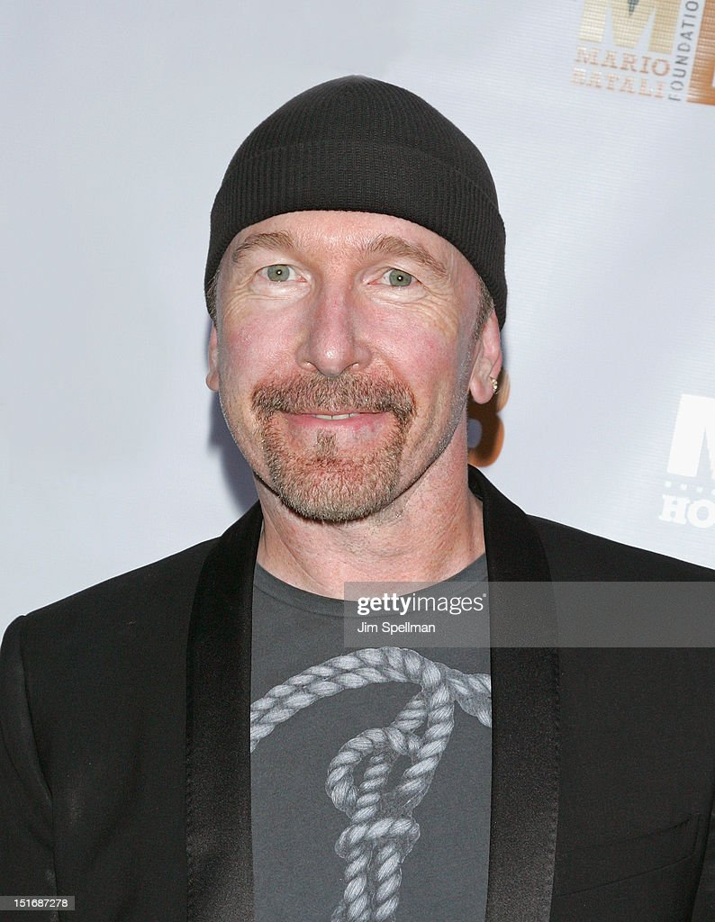 The Edge attends the 2012 Mario Batali Foundation Honors Dinner at Del Posto Ristorante on September 9, 2012 in New York City.