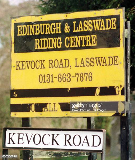 The Edinburgh and Lasswade Riding Centre Edinburgh where a baby boy was killed when a forklift truck reversed over his pram Six month old Billy...