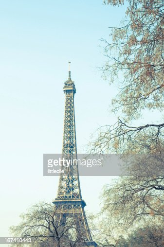 The Eiffel Tower : Bildbanksbilder