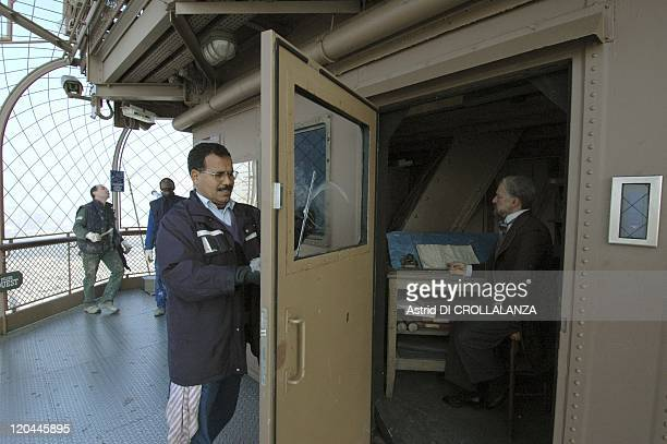 The Eiffel Tower Unveils Its Backstages In Paris France On October 16 2008 Former workshop of Gustave Eiffel preserved and rehabilitated as a...