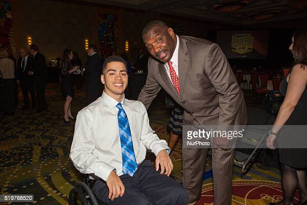 The eighth annual charity benefit dinner and auction on March 26 2016 at the Bethesda North Marriott Hotel in North Bethesda Maryland USA The...