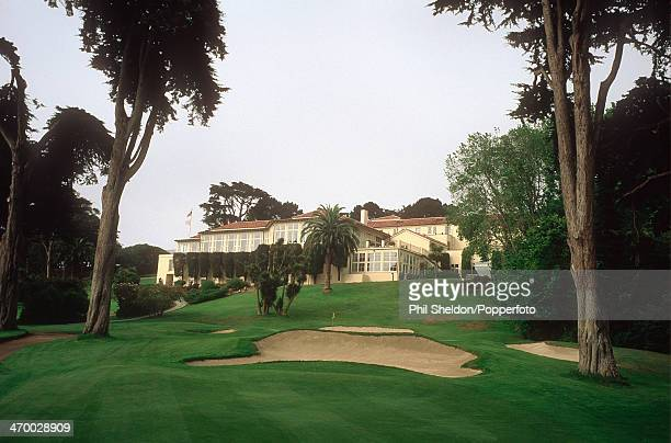 The eighth hole of the Olympic Golf Club California circa 2000