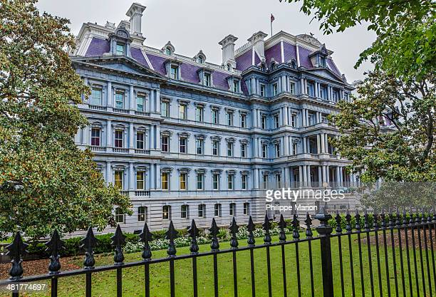 CONTENT] The Eisenhower Executive Office Building is located next to the West Wing and houses a majority of offices for White House staff Originally...
