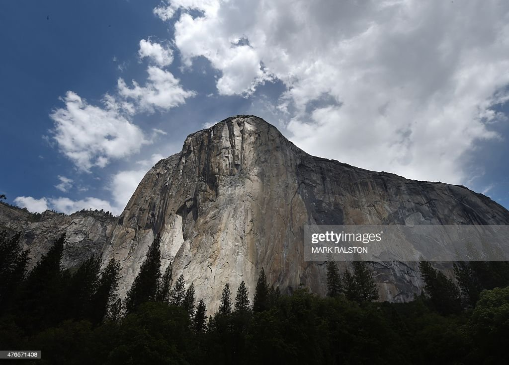 The El Capitan monolith in the Yosemite National Park in California on June 4 2015 It is one of America's most popular natural wonders But even...