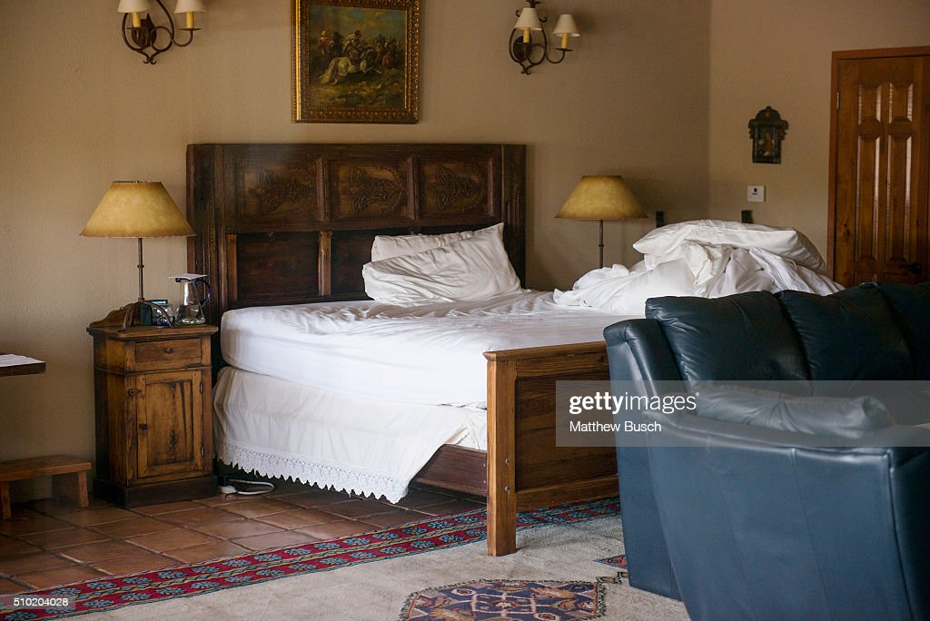 The 'El Presidente' suite where Supreme Court Justice Antonin Scalia was found dead at Cibolo Creek Ranch the day following his passing at the West Texas Resort ranch that stretches over 30,000 acres, February 14 , 2016 in Shafter, Texas. Justice Scalia was 79.
